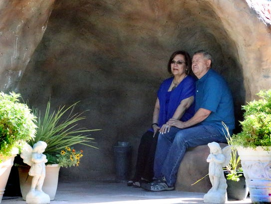 Pat Vargas and her husband, Victor, will travel to