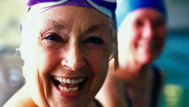 Staying active and healthy is a big component to happiness in retirement.