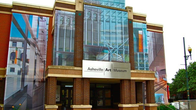 The Asheville Art Museum in Pack Place downtown.