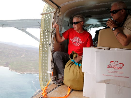A disaster relief team from Remote Area Medical is