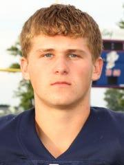 Lakota's Carter Reinhart led the team in tackles at linebacker last season.