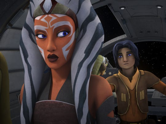After first debuting in 'The Clone Wars' animated series,