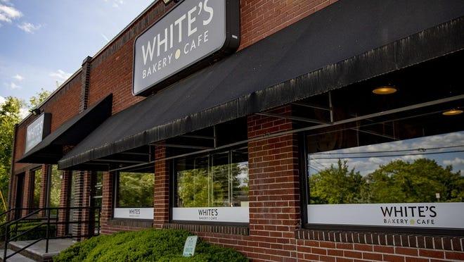 White's Bakery on Pearl Street in Brockton. Alyssa Stonne/The Enterprise