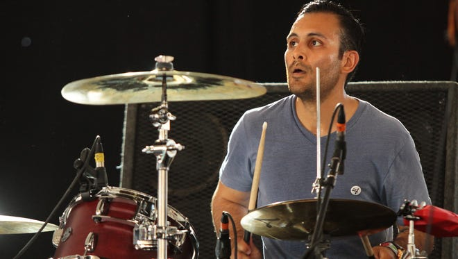 Local band and Tachevah performer CIVX, including drummer Joel Guerrero, plays Coachella in 2014. The band will play Deg Fest this weekend.