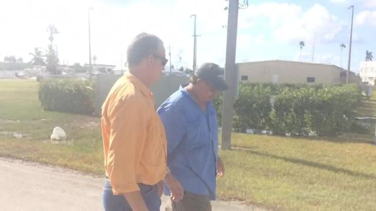 Hurricane Irma video: U.S. Rep. Mario Diaz-Balart tours Everglades City
