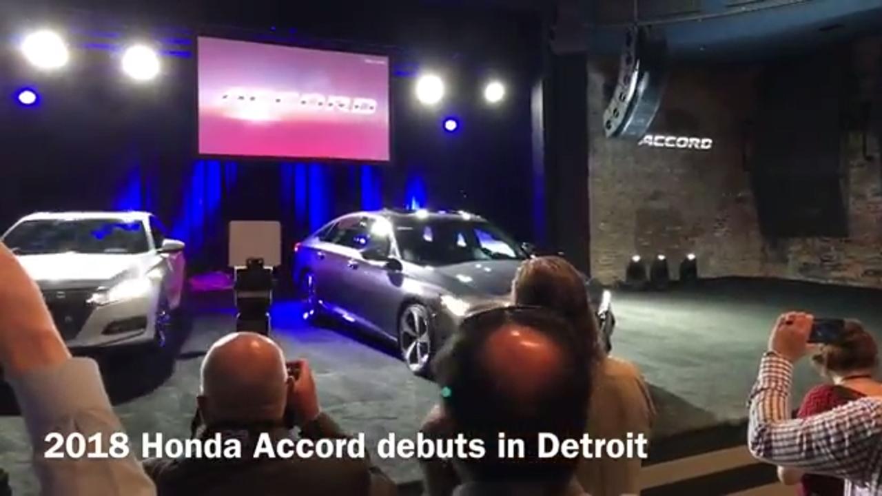 Video: First look at radically new 2018 Honda Accord