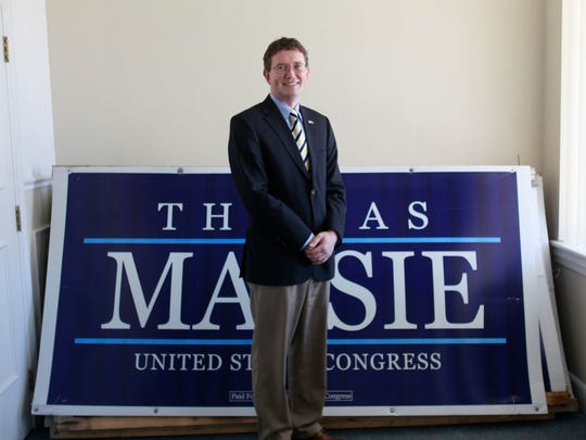 U.S. Rep. Thomas Massie, R-Garrison, has endorsed James Comer, splitting with his predecessor on his endorsement.