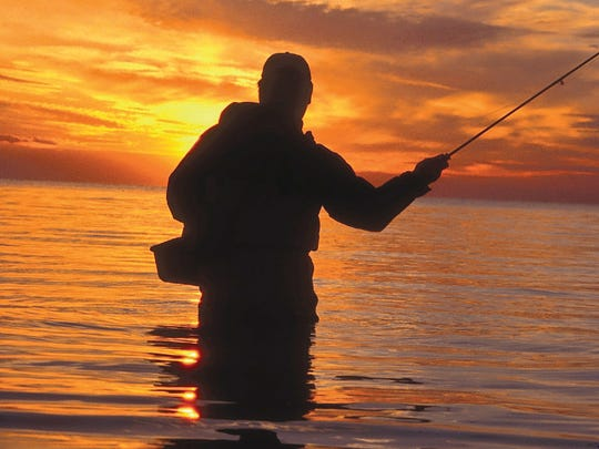 Fishing on Cape Cod, Mass., for striped bass can yield