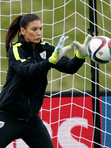 Hope Solo and Team USA faces China next in the Women's