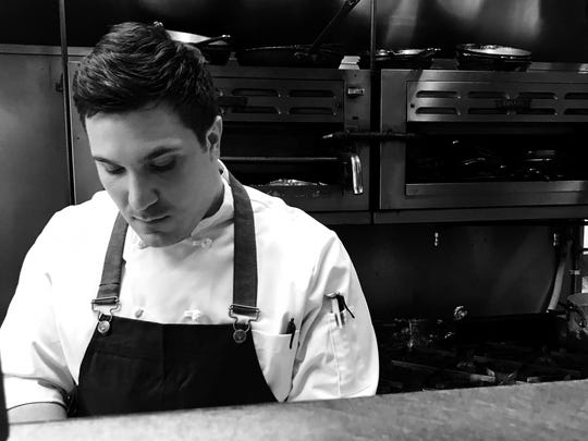 Joseph Gramaglia, head chef at Saly G's.