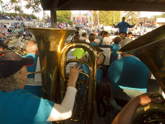 The Livingston County Concert Band performs Tuesday,
