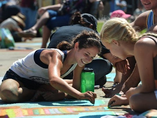 The Ventura Art and Street Painting Festival returns