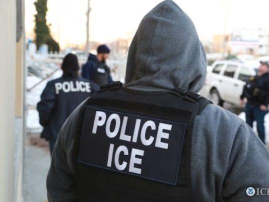 ICE operation undocumented convicted criminals