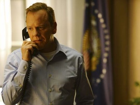 Kiefer Sutherland in a scene from ABC's 'Designated
