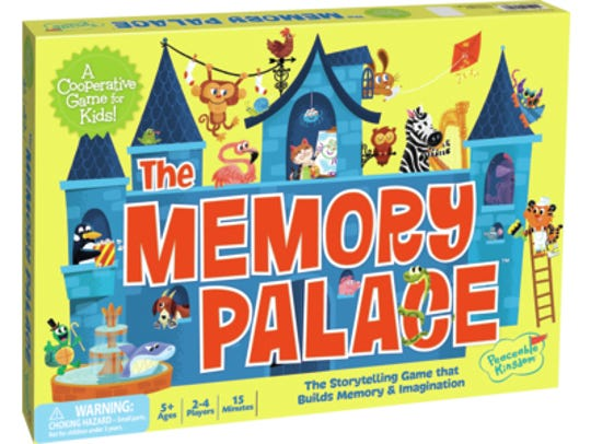 This memory game not only challenges kids to use their