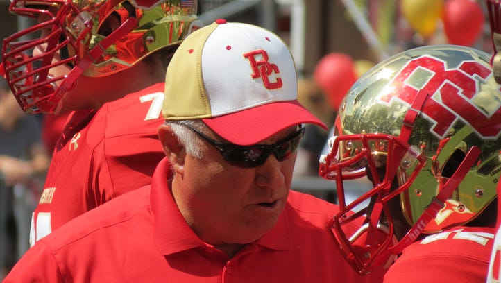 Greg Toal, an assistant coach at Bergen Catholic, would