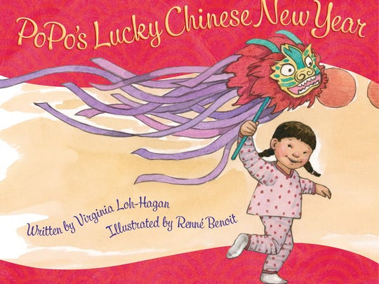 """""""PoPo's Lucky Chinese New Year"""" by Virginia Loh-Hagan."""
