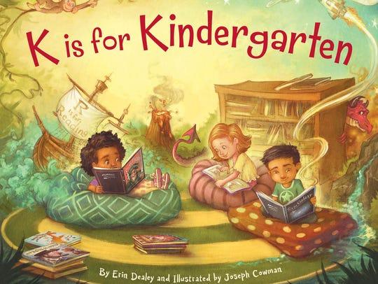 """""""K is for Kingergarten"""" by Erin Dealey"""