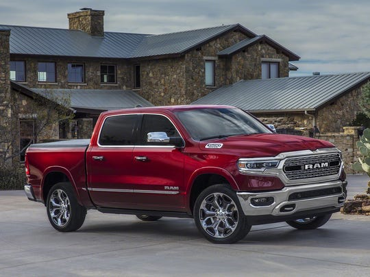 Here's how the new Ram looks from the side