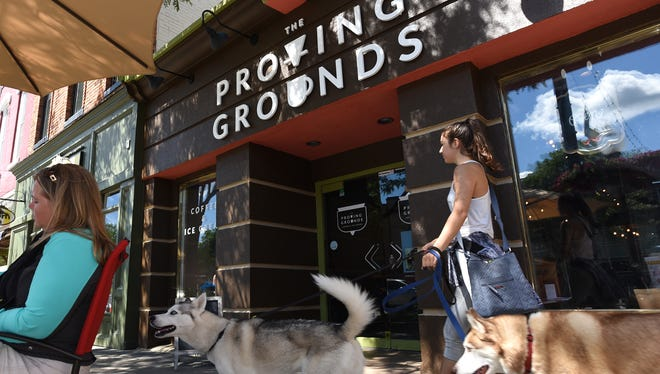 Proving Grounds Coffee and Ice Cream is at 369 North Main in Milford. The shop reopened Friday, Aug. 10, after a fire earlier in the week.