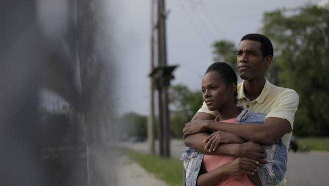 "Set in 1989, ""Southside with You"" is about the courtship of Barack Obama (Parker Sawyers) and Michelle Robinson (Tika Sumpter)."