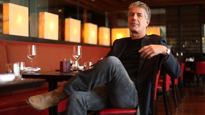 Anthony Bourdain poses for a photo in 2010. The chef-turned-TV host Anthony Bourdain has died at the age of 61.