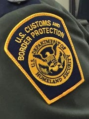Border patrol agent patch