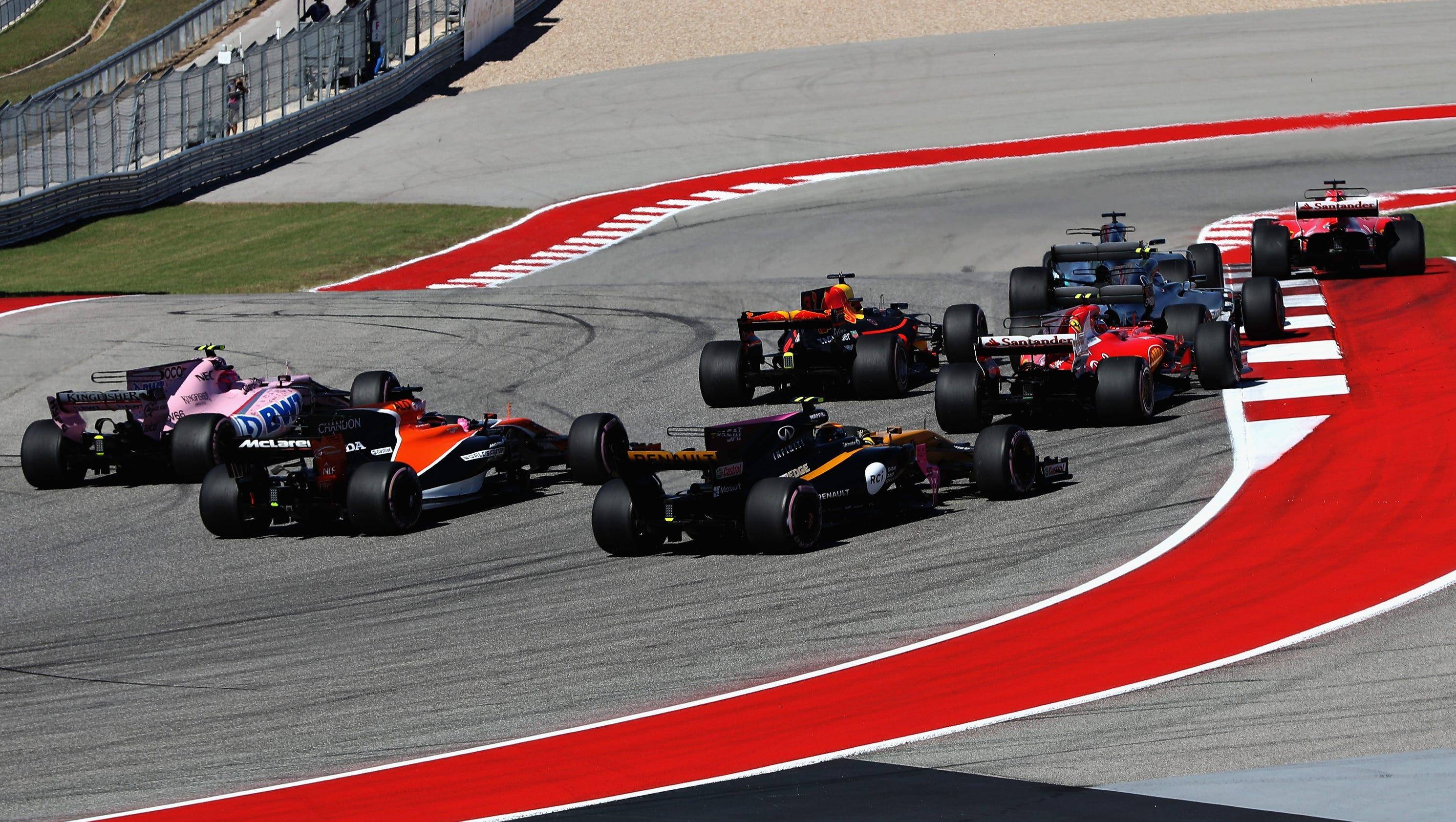 Formula One announces 2018 race schedule; Brazil security ...
