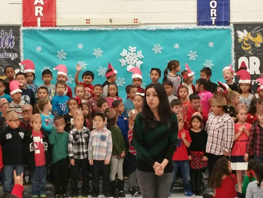 Students at Joe Stanley Smith held their annual holiday
