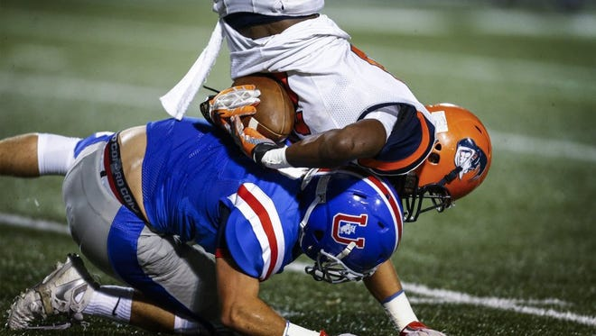 It's been a challenge to run against Buchanan Dunavant and MUS, as Ridgeway's Cameron Stansbury learned on Sept. 23.