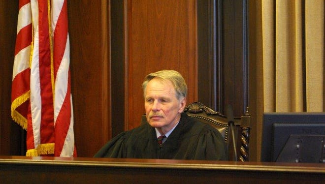 Judge J. Rich Leonard presiding in U.S. Bankruptcy Court for the Eastern District of North Carolina in Raleigh in 2006.