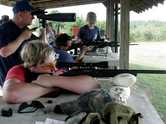 Shooting at the Bodcau rifle range will likely be a stop for the POMA conference attendees next summer.