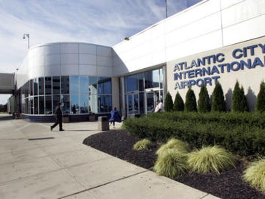 A Russian commercial jet and its passengers spent Wednesday at Atlantic City International Airport after being diverted by a mechanical problem during a flight from Russia to Cuba.