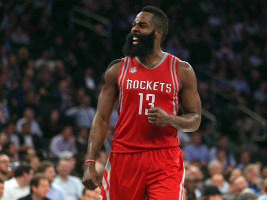 USP NBA: HOUSTON ROCKETS AT NEW YORK KNICKS S BKN USA NY