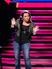 Kathleen Madigan returns to the Meyer Theatre on Saturday night. Yes, the election is sure to come up, but the comedian is keeping that material to a minimum to give fans a break.