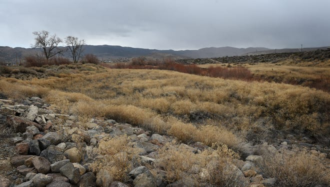 101 acres of land is seen just south of the intersection of South Virginia and Mt. Rose Highway in Reno on Dec. 24, 2014.