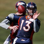 Broncos open QB competition in earnest