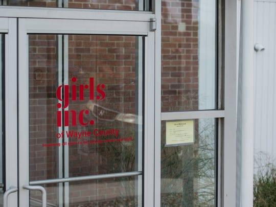 The doorway at Girls Inc. of Wayne County's facility