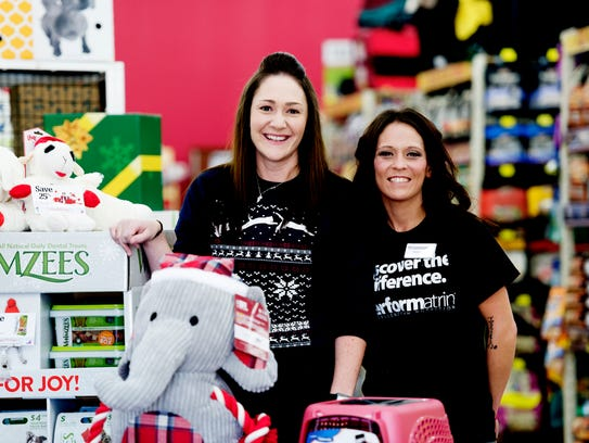 Pet Supermarket district manager Caitlin Greenwell,