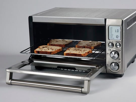 Breville Smart Oven Pro is an electric convection oven that can roast a chicken, bake bread and cookies and still makes great toast.