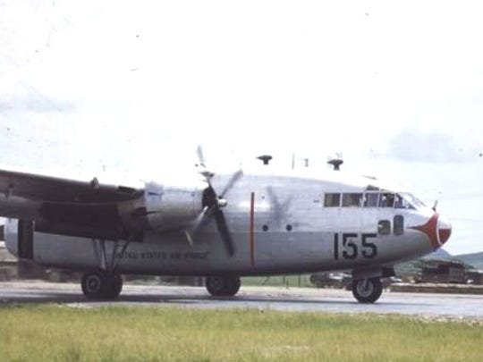 A C-119 Flying Boxcar from the 1949 hay lift.
