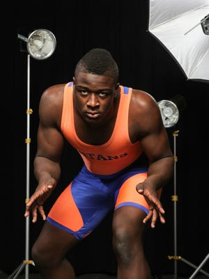 All-Shore Wrestler of the Year Tyree Sutton of Keansburg.