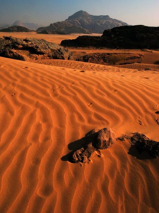 Wadi Rum, not Mars