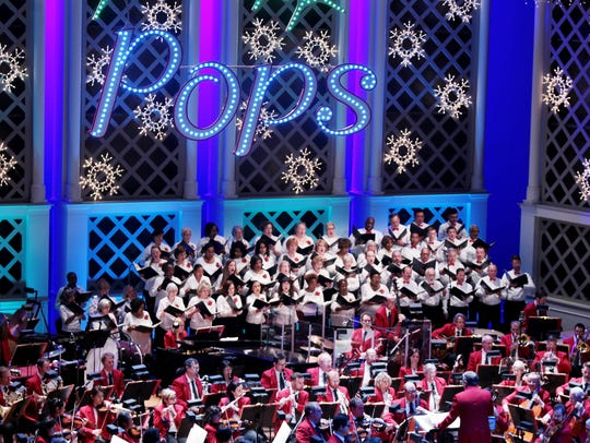 "The Pops' holiday concerts, led by ""Mr. Christmas"""