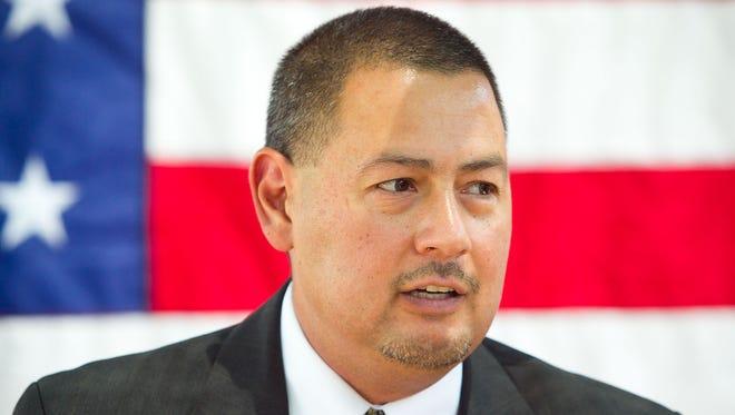 Arizona Sen. Steve Gallardo says the furor over Senate Bill 1062 prompted his decision to go public.