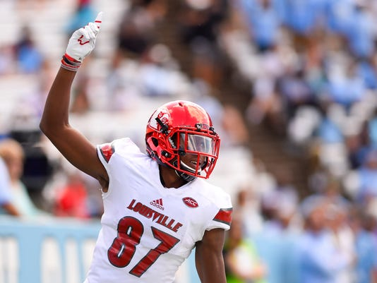 NCAA Football: Louisville at North Carolina