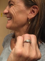 Sally Hayes, who worked with jewelry artist Timothy