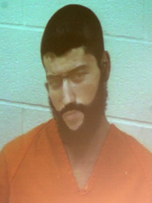 Mohammed Laghaoui, 19, charged with felonious assault and attempted aggravated murder in the shooting of Warren County deputy sheriff Katie Barnes and his father, appeared via video at his arraignment in Mason Municipal Court on Monday.