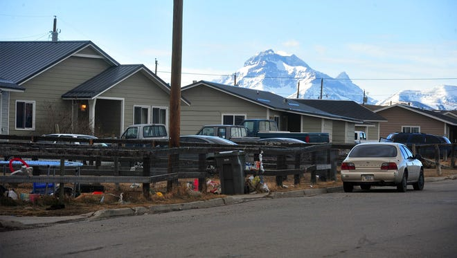 Browning, on the Blackfeet Reservation, faces a shortage of tribally owned housing for tribal members mainly due to the lack of funding.