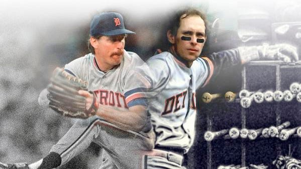 Pitcher Jack Morris, left, and shortstop Alan Trammell, who helped lead the Tigers to one World Series championship during their heydays of the 1980s, will be inducted into the Hall of Fame on Sunday.